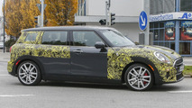 MINI Clubman JCW spy photo