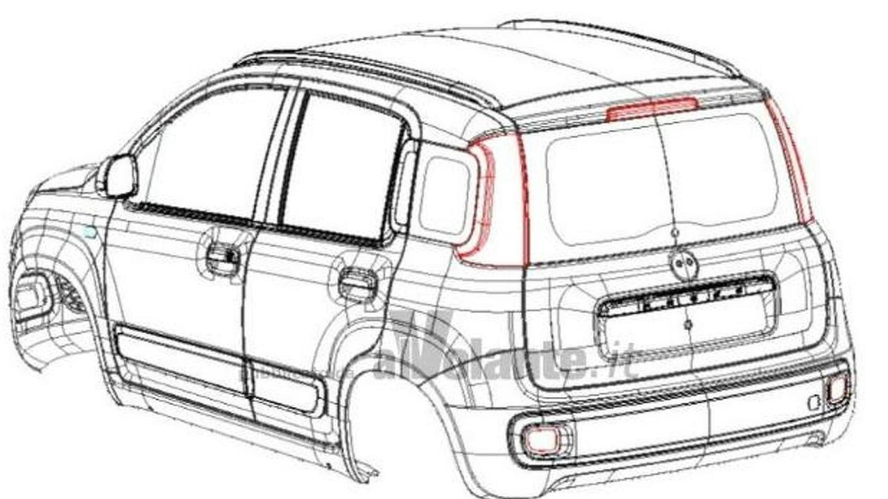 2012 Fiat Panda design leak - 24.6.2011