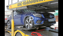 Mercedes GLC Coupé, le foto spia
