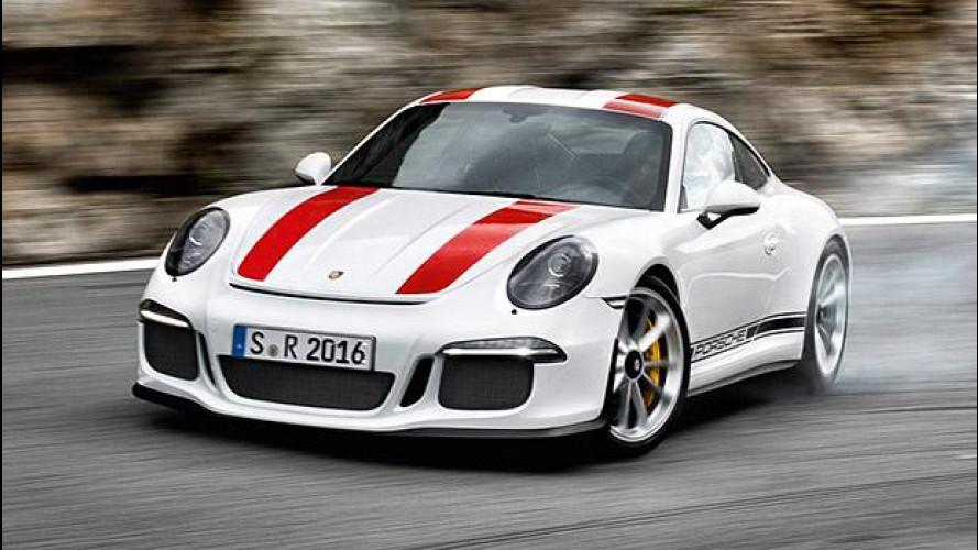 Porsche 911 R, 500 CV in incognito [VIDEO]