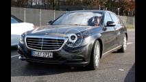 Mercedes Classe S, ecco le prime foto spia del restyling