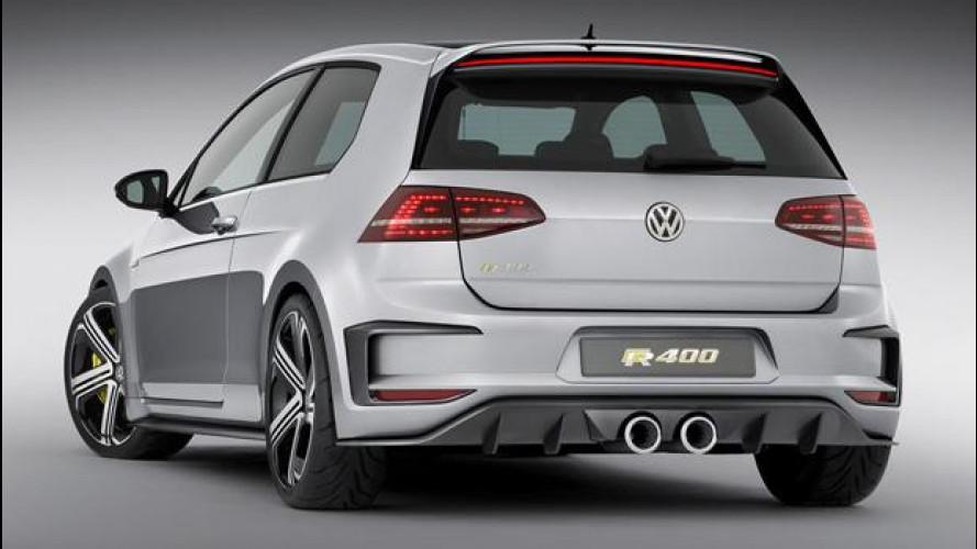 Volkswagen Golf R400 sarà di serie
