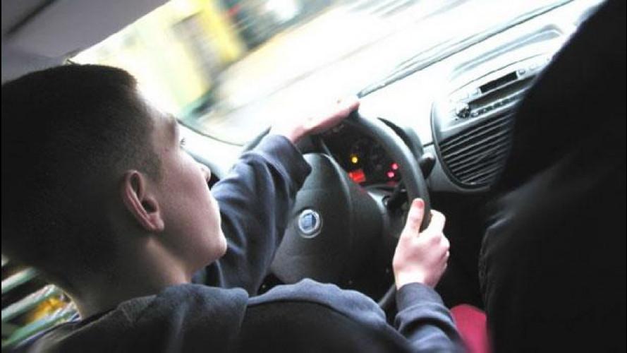 Guida Accompagnata, sono pochissimi i 17enni al volante