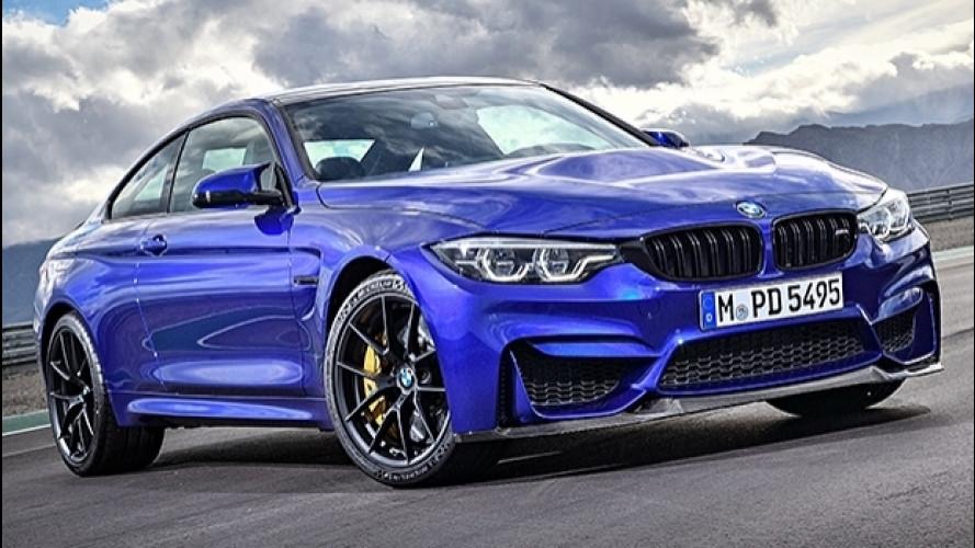 BMW M4 CS, 460 CV cattivi ma non troppo