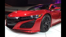 Salão de Detroit: Honda mostra versão final do NSX com mais de 550 cv
