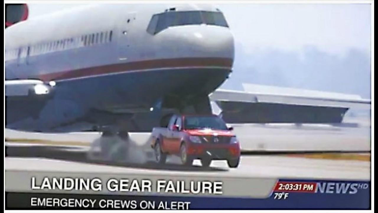 "VÍDEO: Nissan Frontier impede ""acidente aéreo"" em comercial"