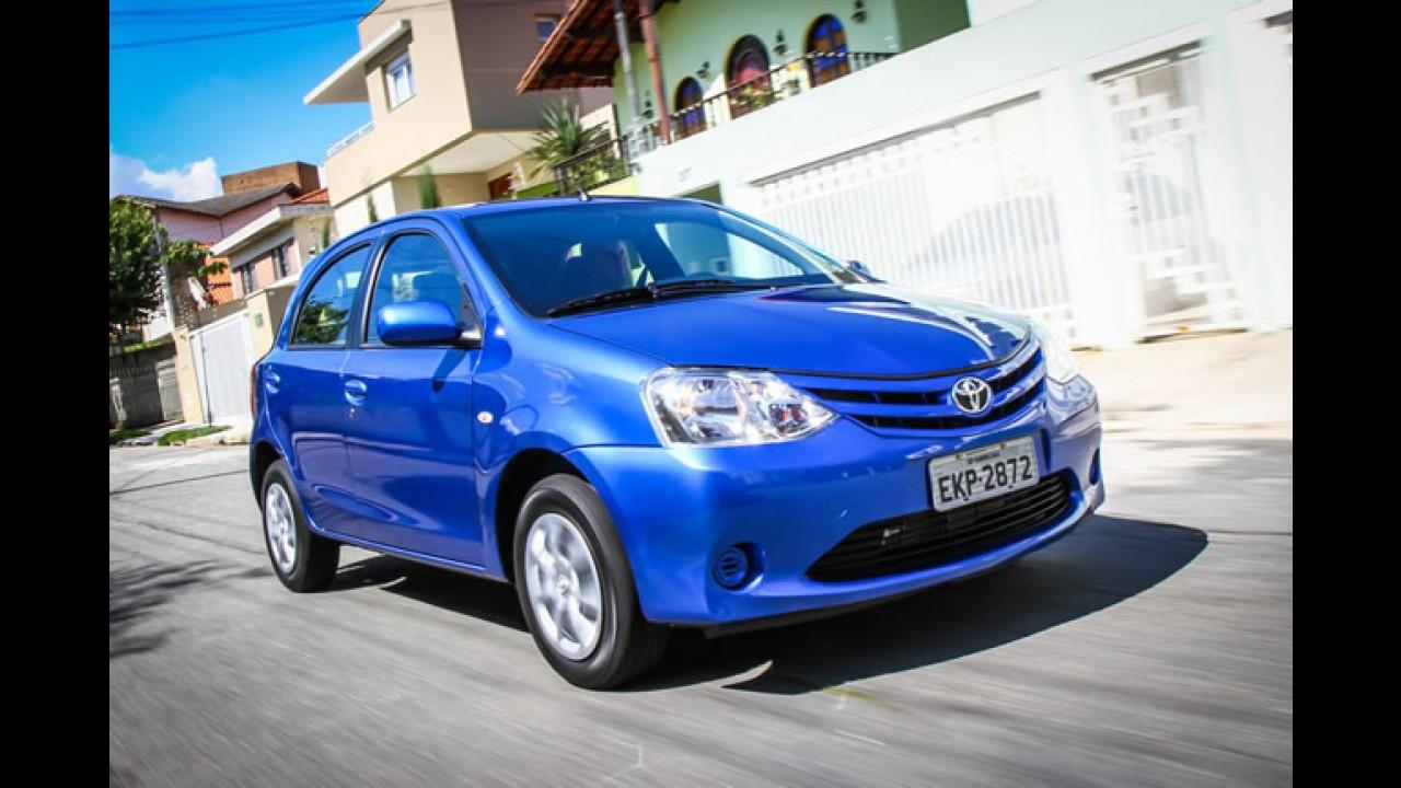 Chevrolet Onix fecha janeiro como 5º carro mais vendido do país - HB20 fica em 9º e Etios em 32º