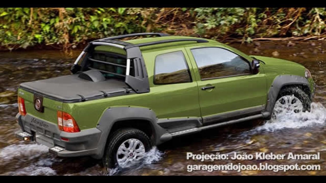 Fiat Strada Cabine Dupla será lançada no dia 29 de junho - Preço deve ficar em torno de R$ 48 mil