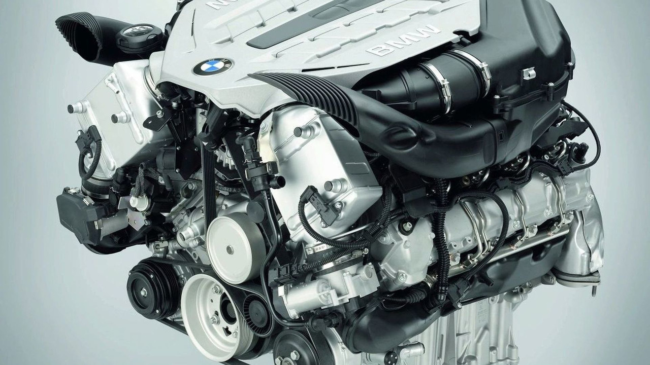 BMW X6 4.4 Liter Twin Turbo V8 engine
