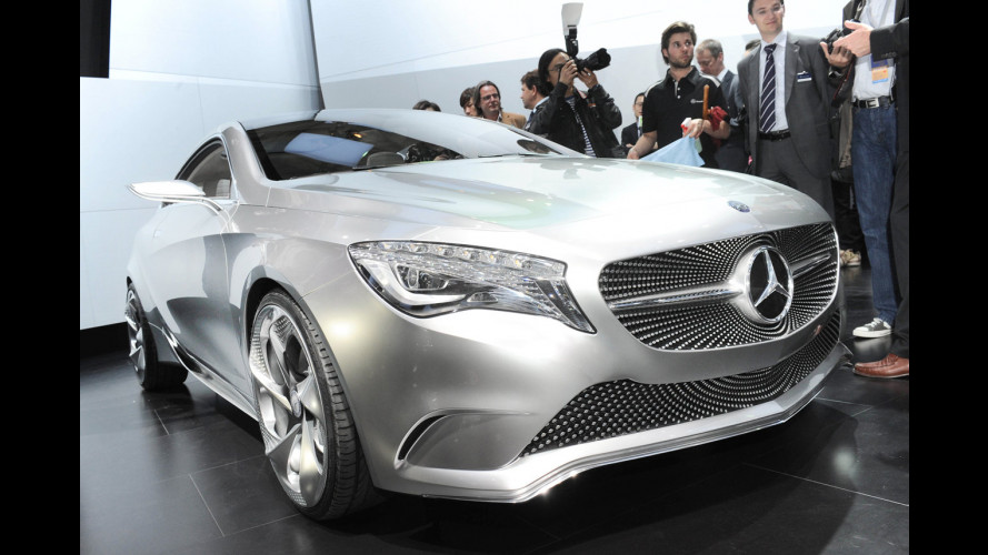Mercedes: quattro compatte dopo la nuova Classe A