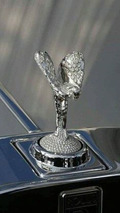 Diamond encursted Spirit of Ecstasy