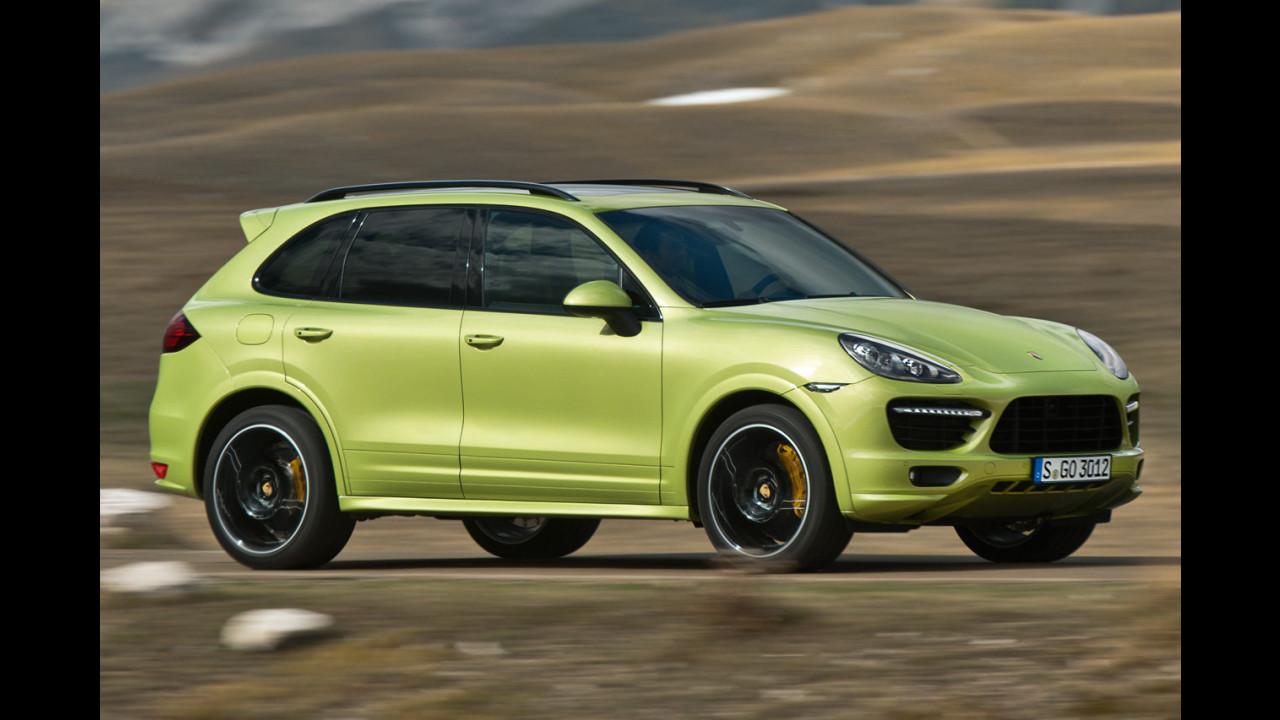 Nuova Porsche Cayenne GTS