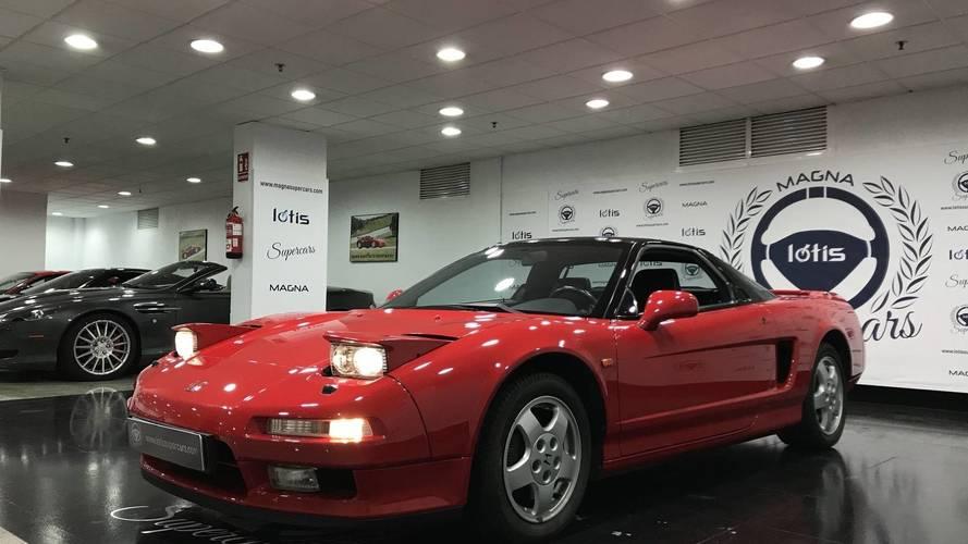Un magnífico Honda NSX, de 1992, a la venta en Marbella
