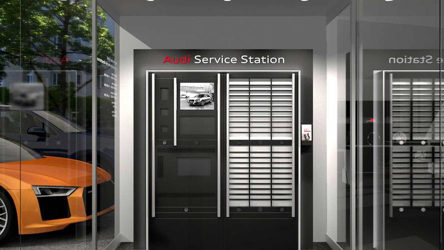Audi Digital Station Offers Automated 24/7 Dealership Service