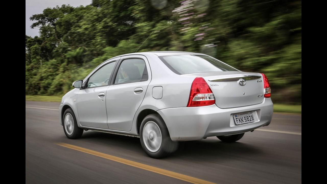Etios agrada na praça: vendas para taxistas registram alta de 52%