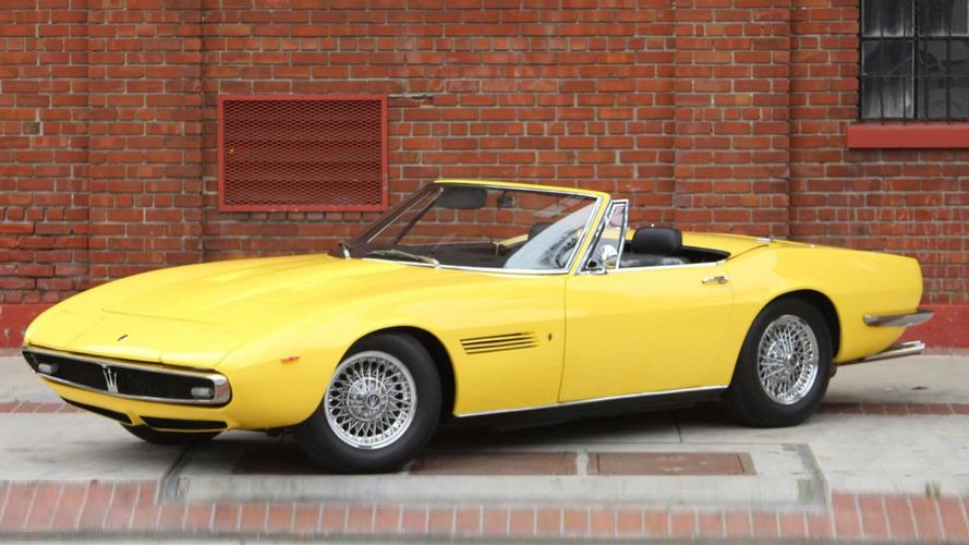 1969 Maserati Ghibli Spyder grabs $920k at auction