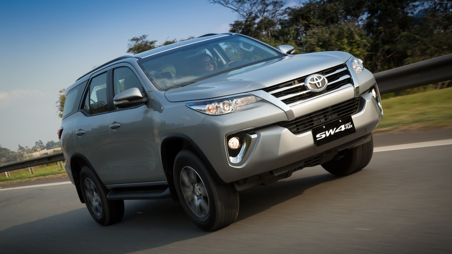 Toyota SW4 com sistema stop/start estaria a caminho