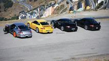 New Porsche 911 GT3 Facelift test group