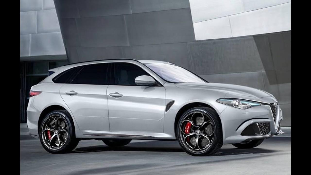 """Alfa Romeo Stelvio: vídeo da fábrica mostra o inédito SUV """"sem querer"""""""