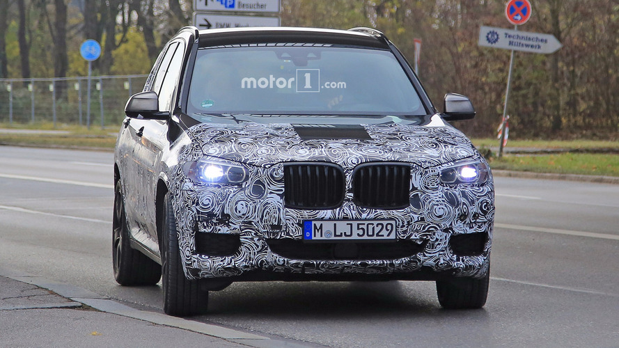 2018 BMW X3 spy photos