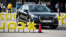 FC Barcelona'nın yıldızları yeni Audi'lerini aldılar