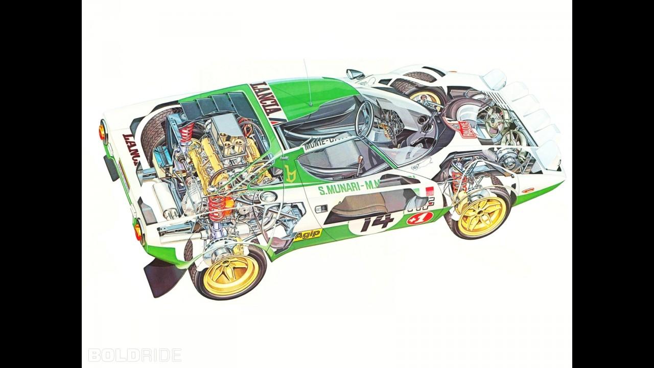 Lancia stratos rally group 4 vanachro Images