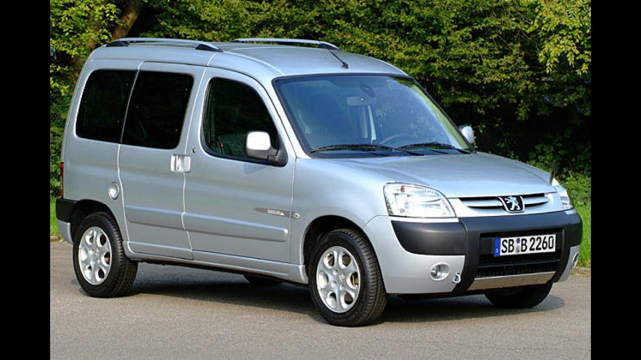 Peugeot Partner Kombi 75 Bivalent Filou (Erdgas)