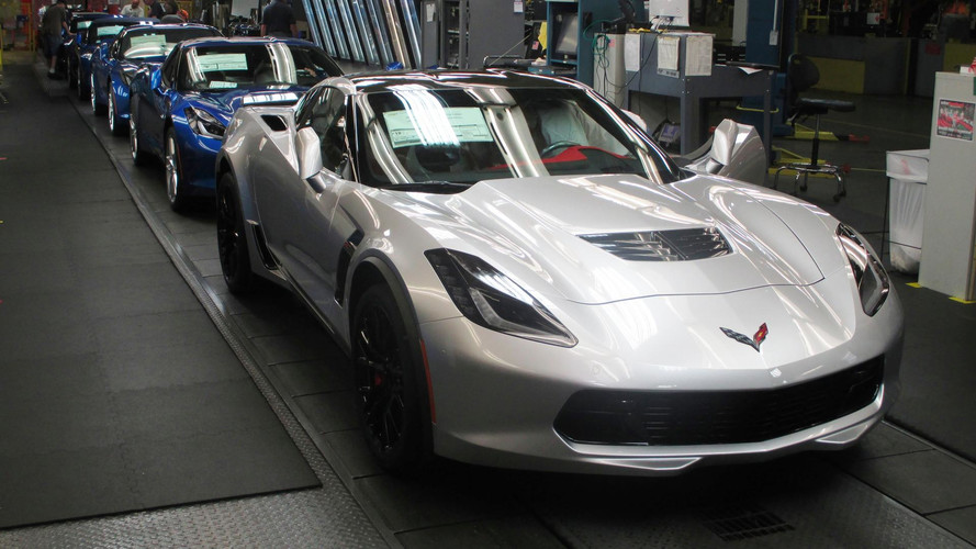 Corvette production
