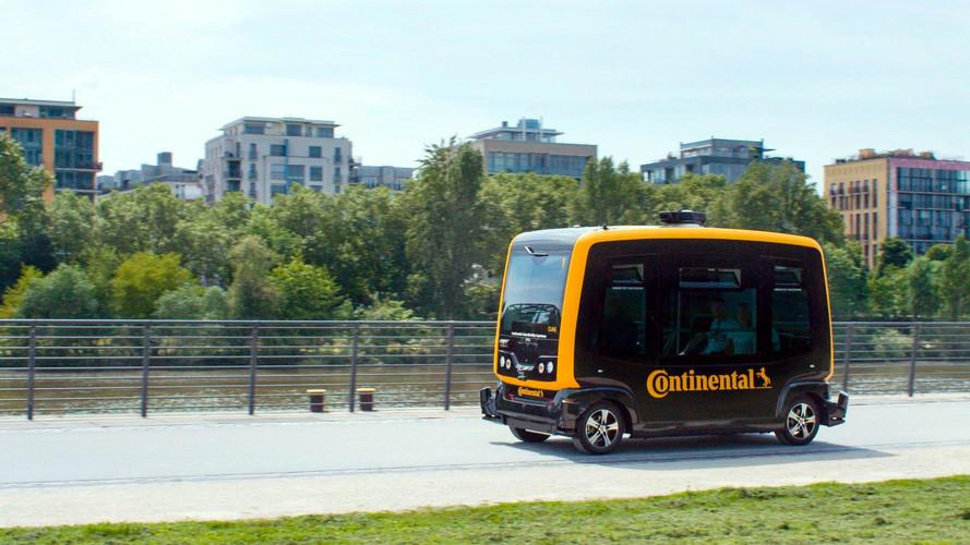 Continental CUbE Concept - Le taxi autonome du futur ?