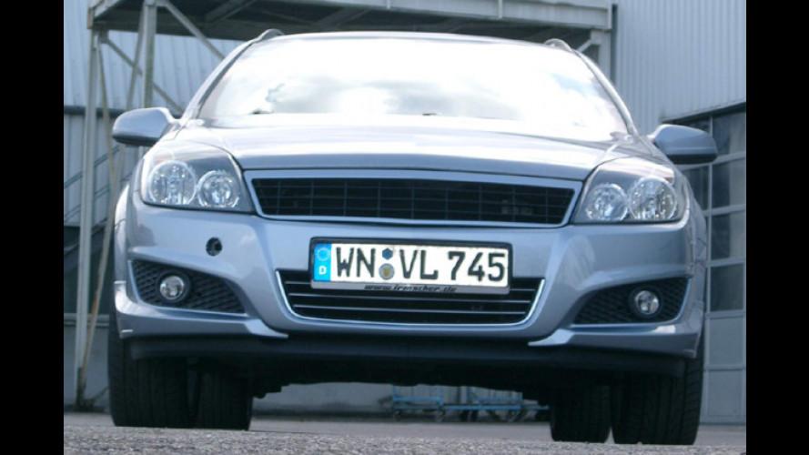 Individuell: Irmscher-Tuning für den facegelifteten Opel Astra