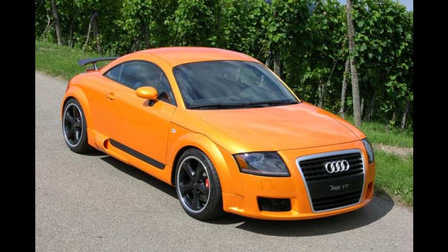 Audi RS TT von PPI: Donnervogel mit Tachoanschlag