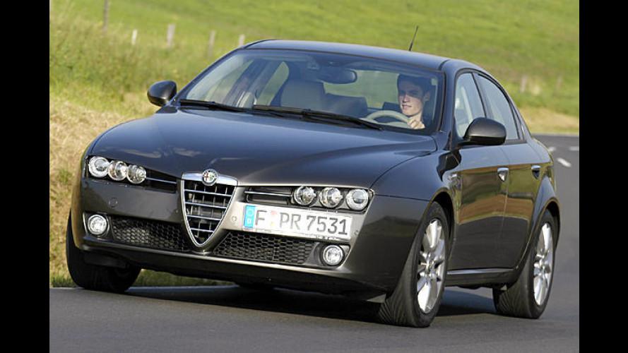 Alfa erweitert 159er-Reihe: Motor, Ausstattung und Preise neu