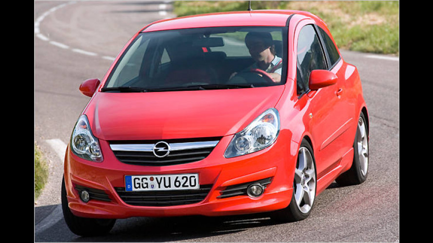 Karacho-Corsa, die Zweite: Opel bringt GSi-Variante