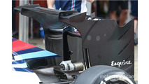 Williams FW38 new rear wing
