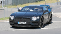 Bentley Continental GT Spy Photos at Nurburgring