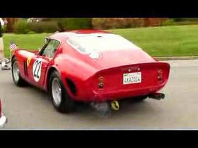 Tiburon Car Show - Tom Price 1962 Ferrari 250GTO