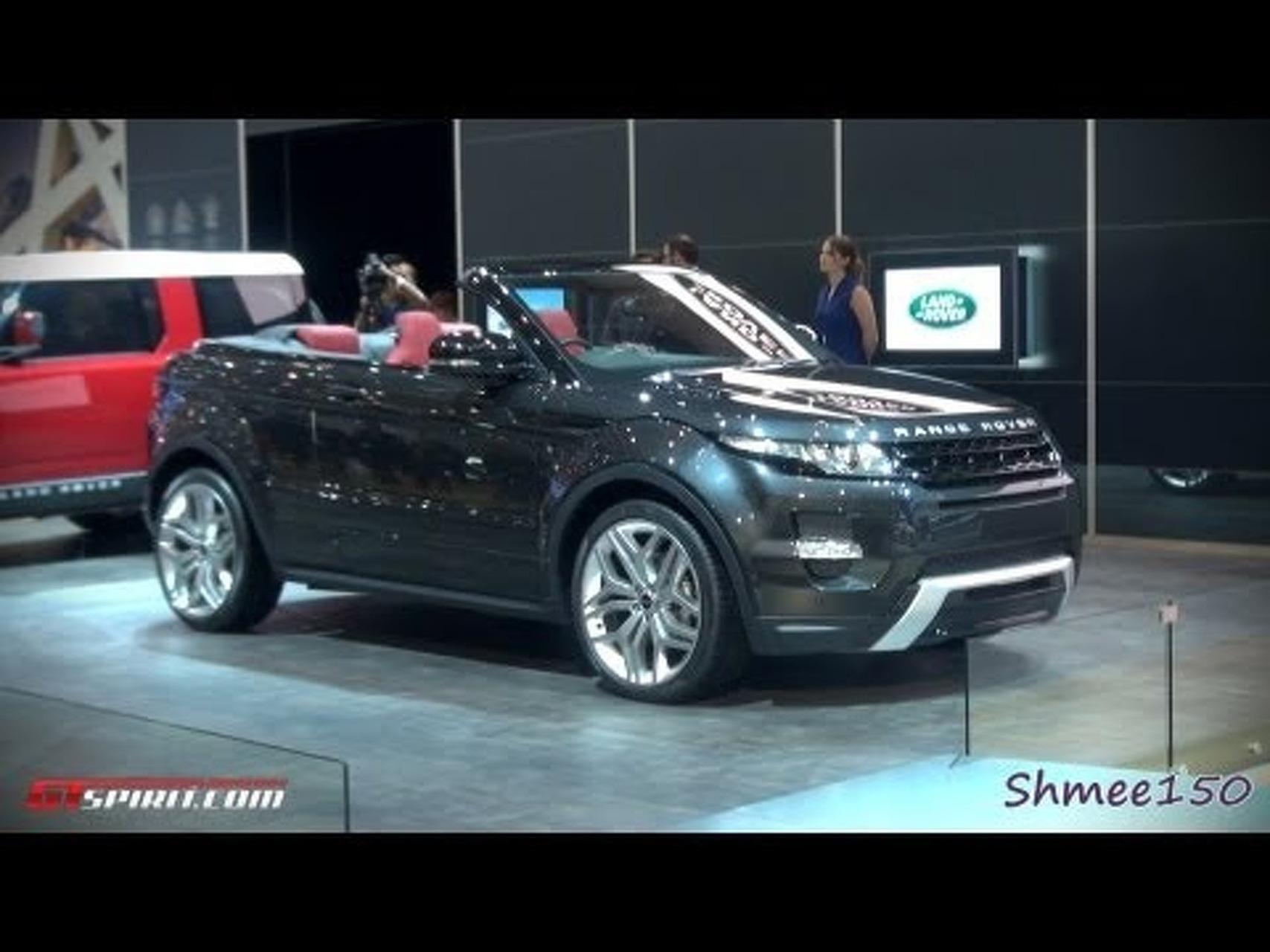 Range Rover Evoque Cabriolet Concept - Geneva 2012 with GTspirit.com