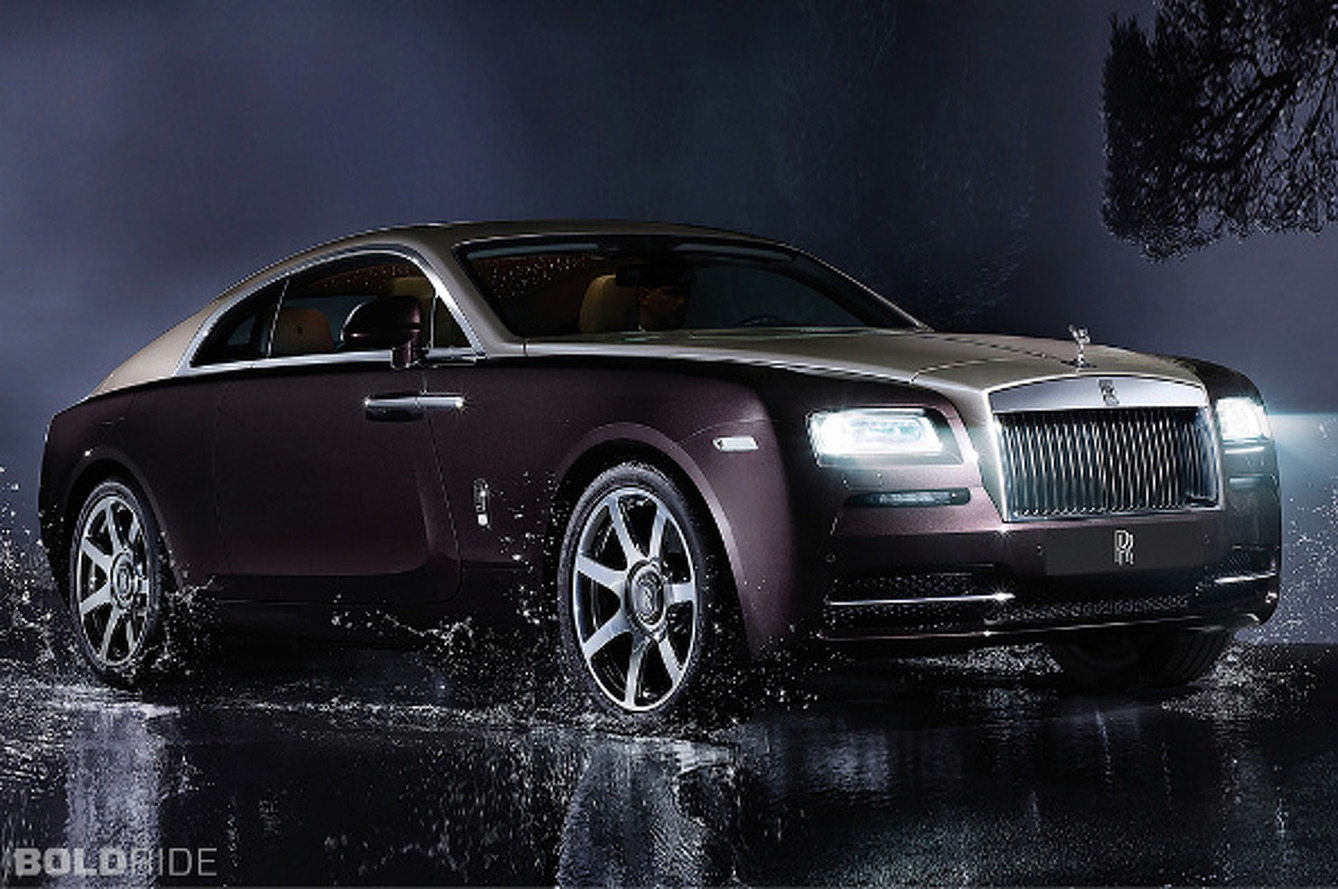 Rolls-Royce Wraith is a Ghost, Minus Two Doors