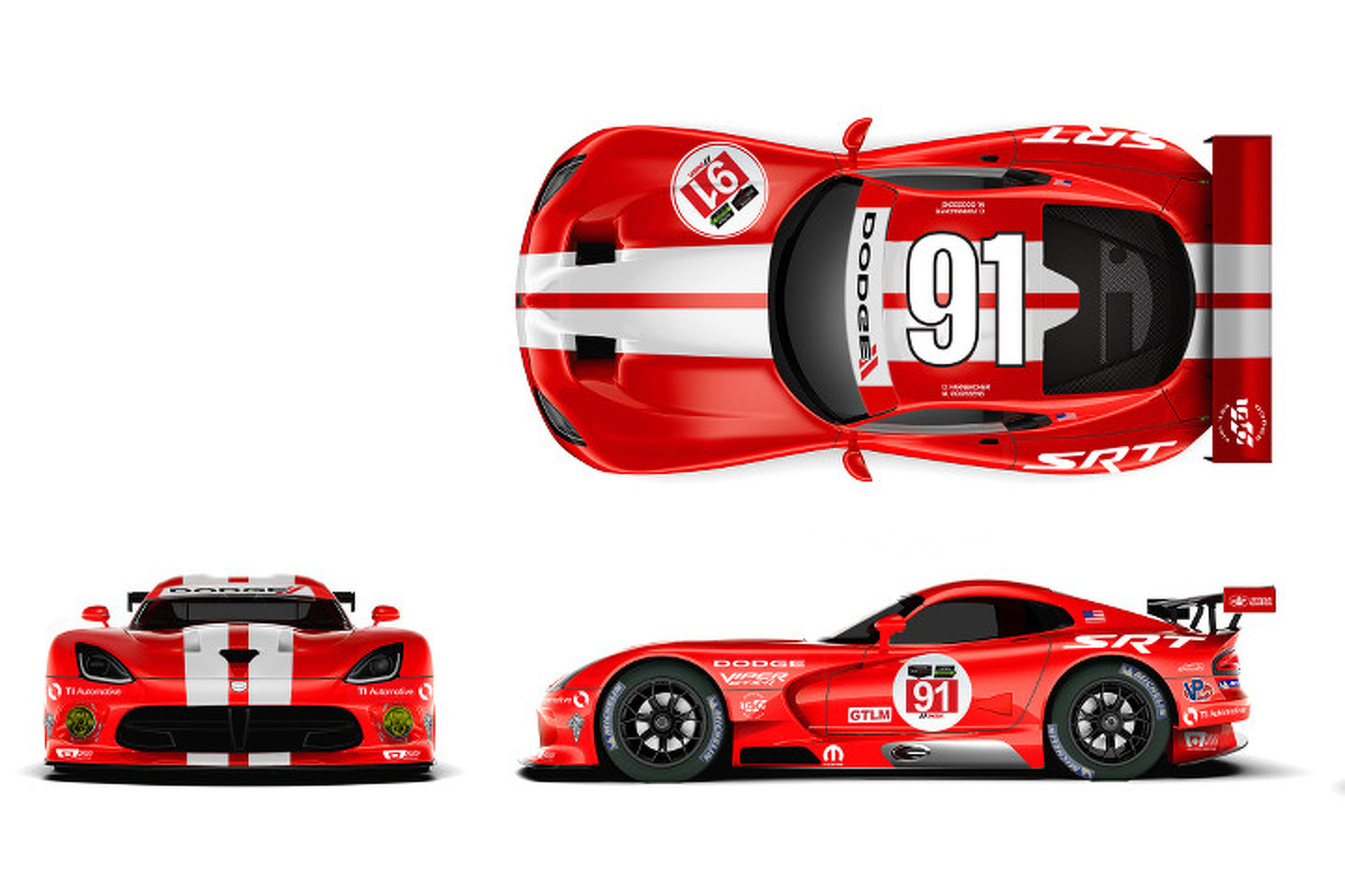 Viper Racing Team Looks to Past with New Red-and-White Livery [Video]