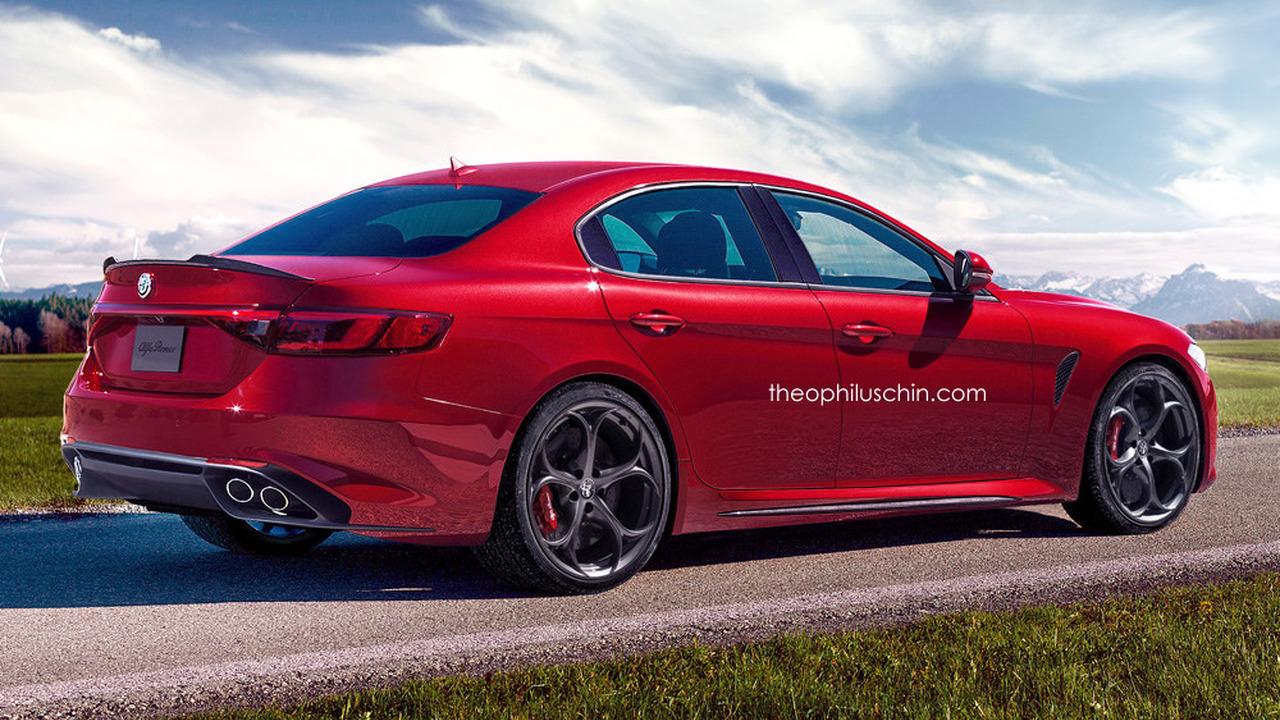 Alfa Romeo Giorgio rendering