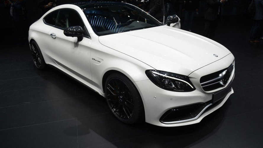 Mercedes C-Class Coupe lineup unveiled with up to 510 PS
