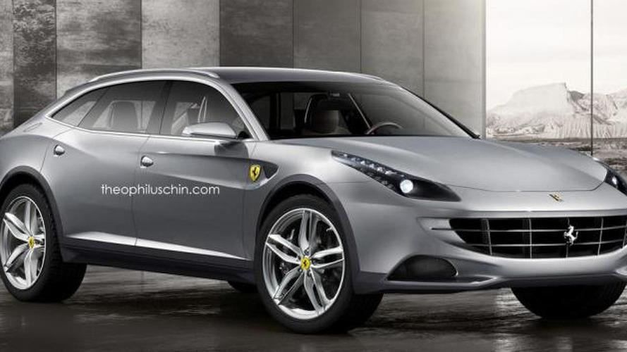 Ferrari FX crossover render