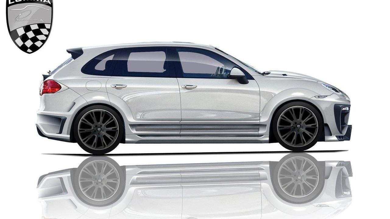 Lumma CLR 550 GT design illustration based on 2011 Porshe Cayenne 12.05.2010