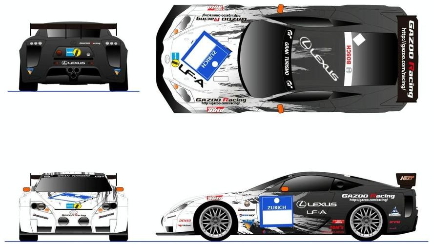 Lexus LF-A Prototype to Enter 24-hour Nürburgring Race Again
