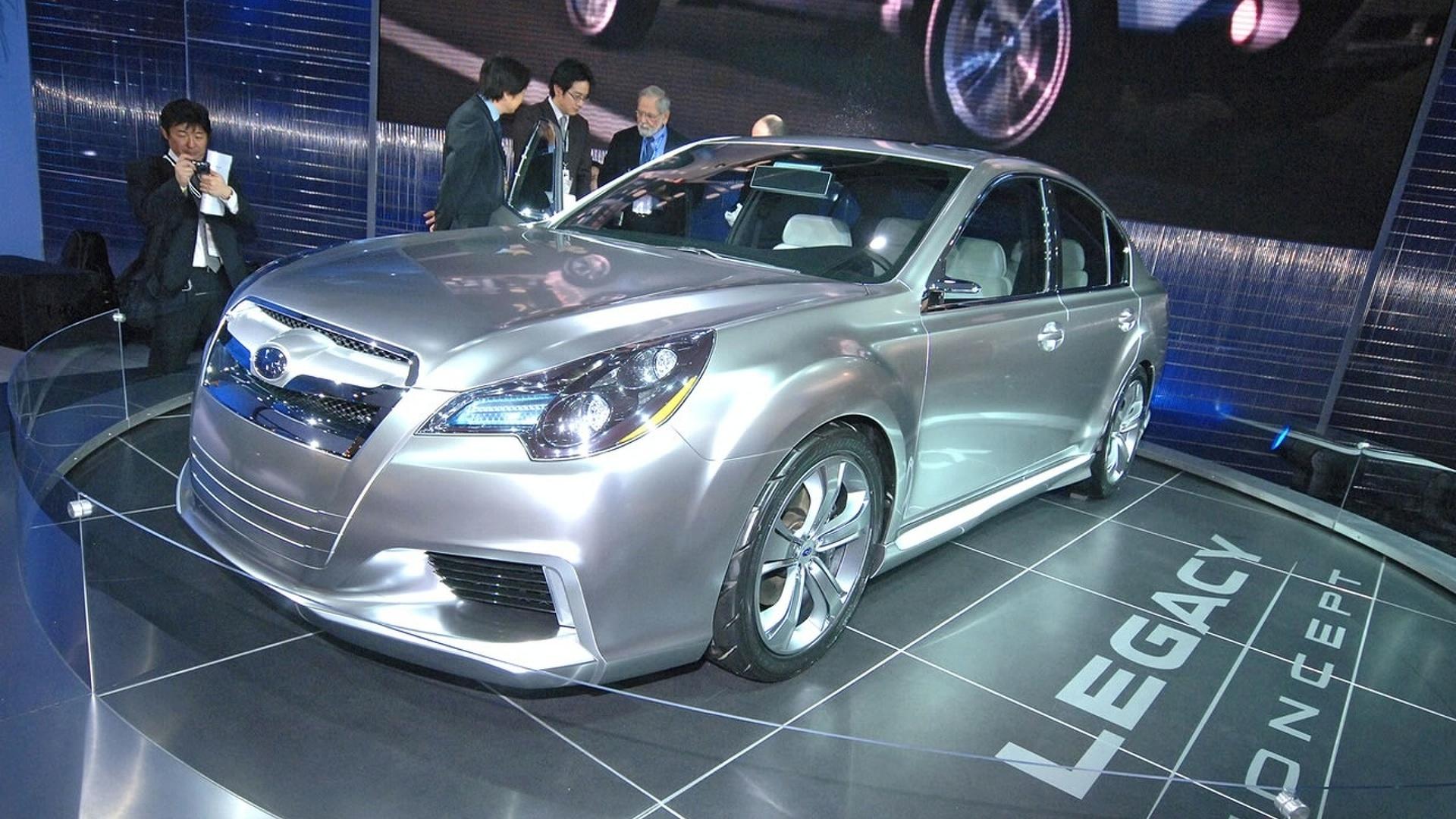 Subaru legacy concept promo video vanachro Image collections