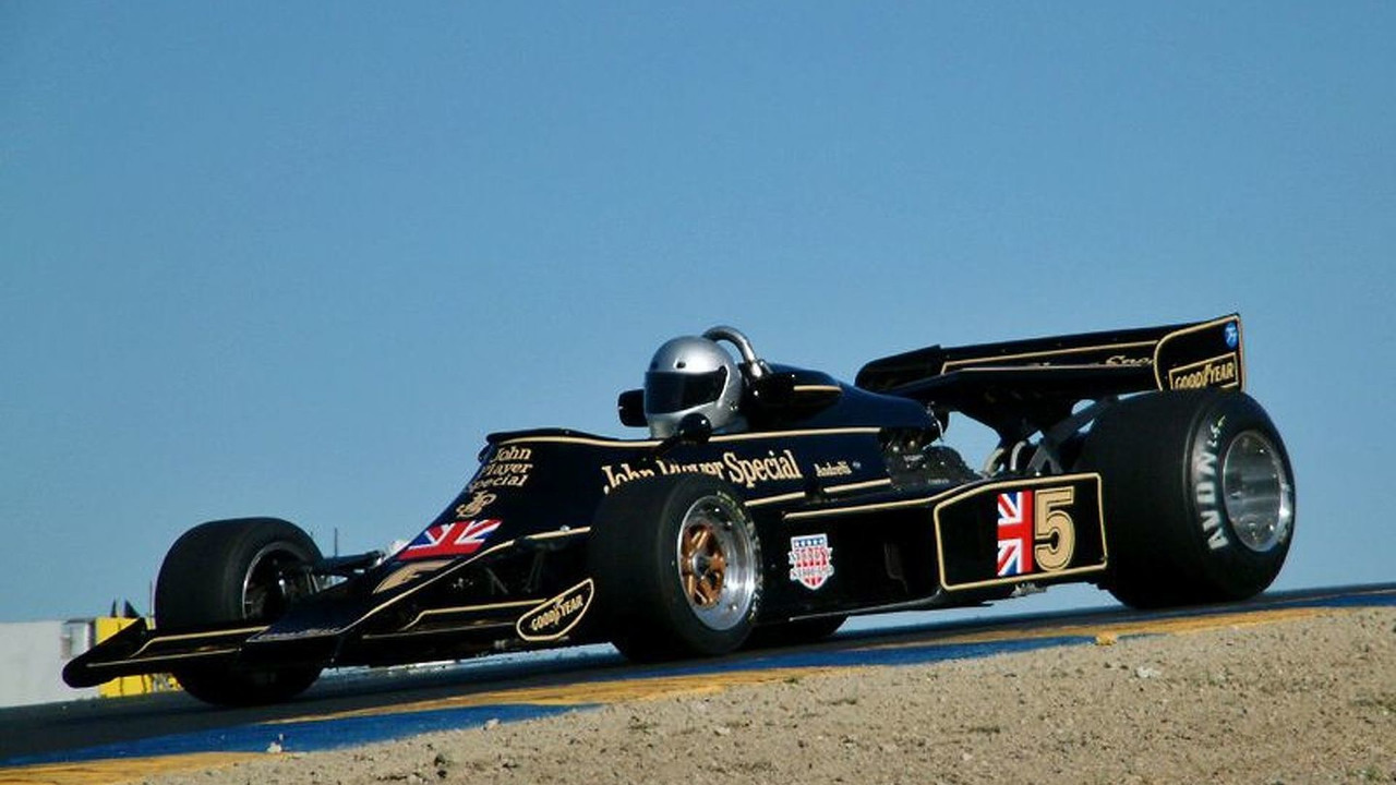 1976 Lotus 77 Formula One racing car