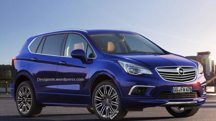 Buick Envision rendered as next-gen Opel Antara