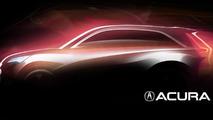 Acura concept teaser for 2013 Auto Shanghai