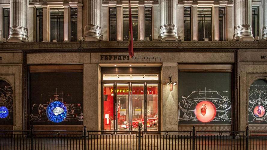 Heart of Ferrari display opens in London