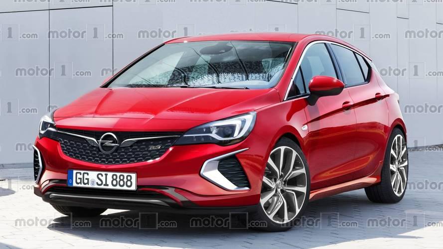 2018 Opel Astra GSi muhtemelen böyle görünecek